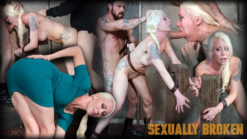 Lorelei Lee in Sexuallybroken Lorelei Lee is bound to the fucking ...