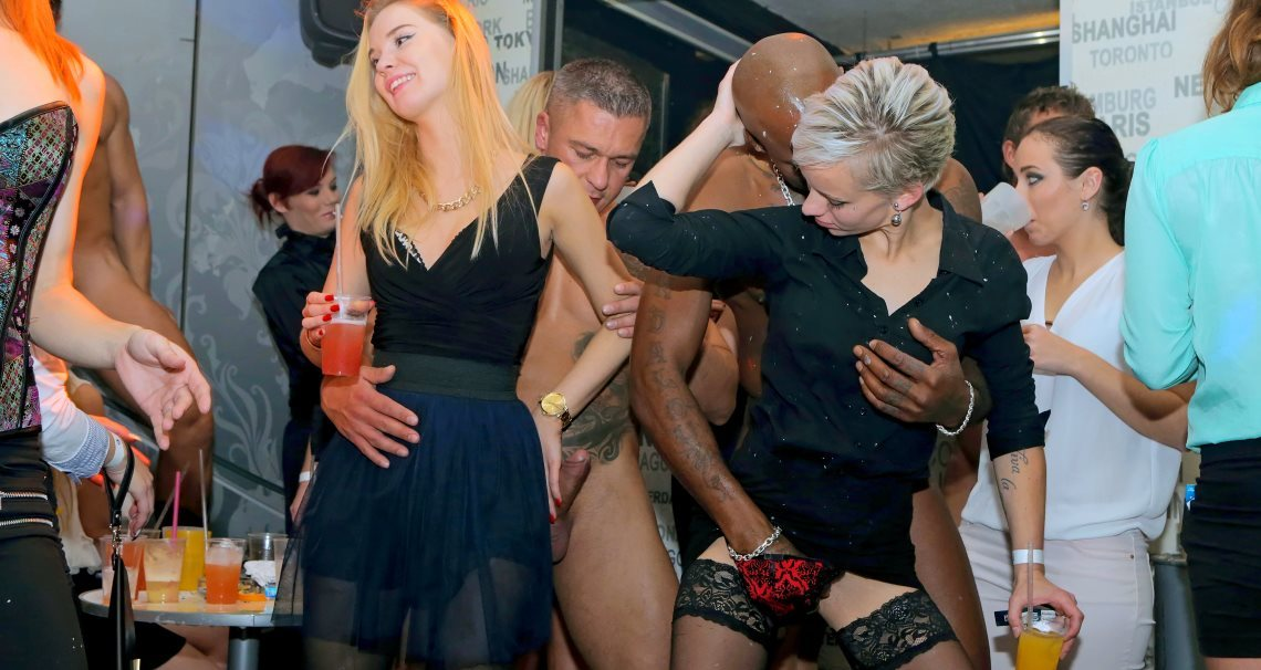 Interracial party gone wild
