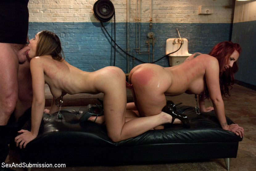 Kelly Divine in Sexandsubmission Slut Connection January 06, 2012 Blowjob,  Rope Bondage