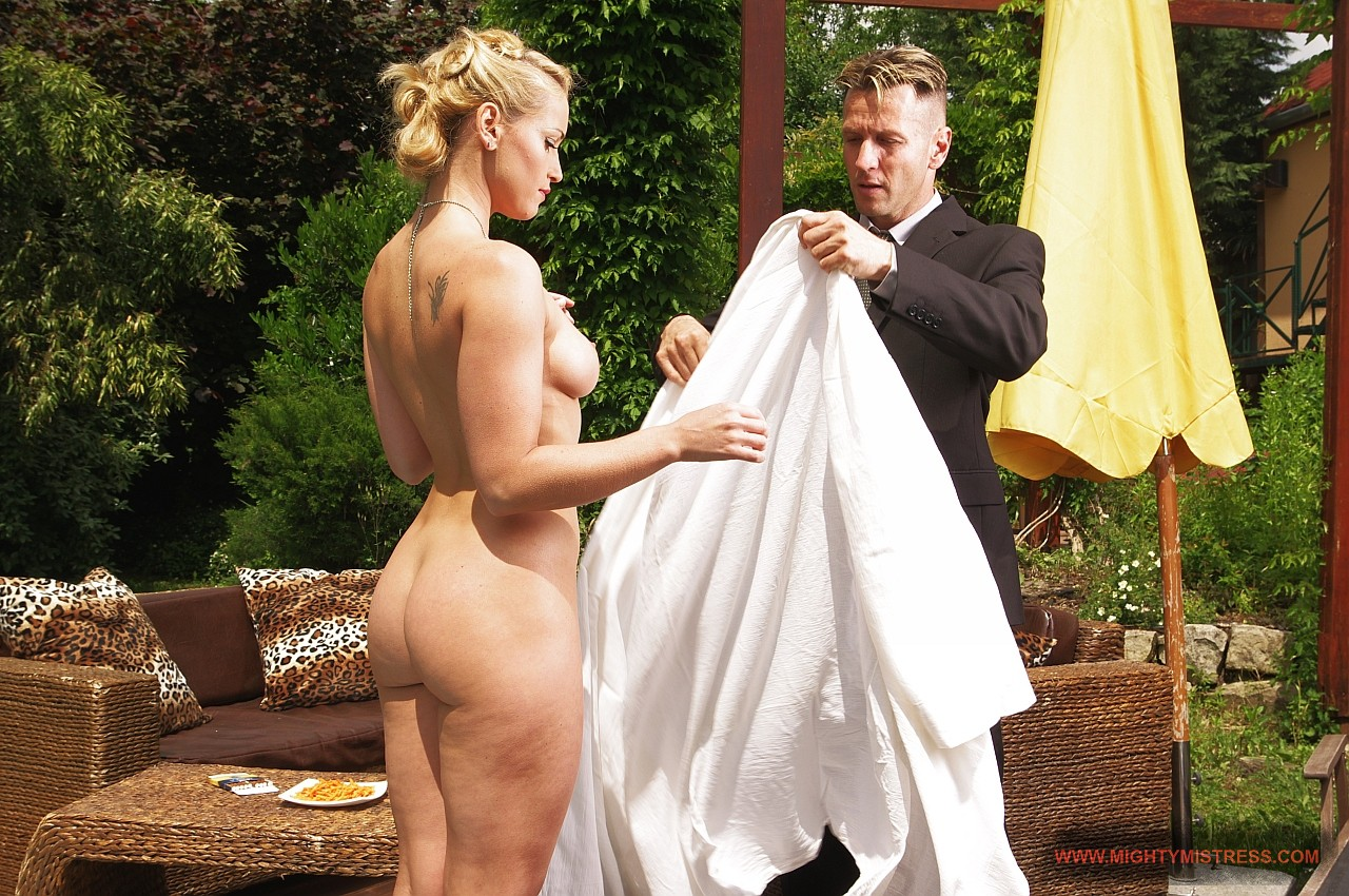 Kathia Nobili in 21sextreme The Godmother returns – part 1 June 10, 2013  Blonde, Threesome