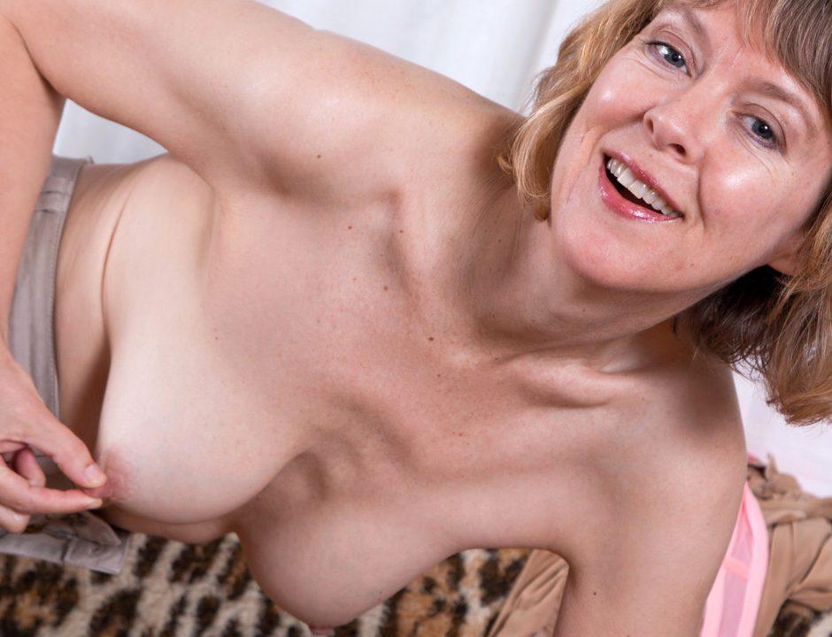 Mature puffy tits