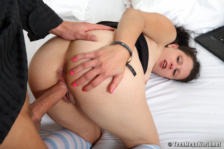 Licking tasty mila ass