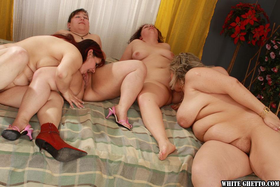 Orgy Fat lesbians