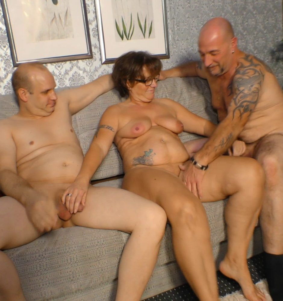 Mature Couple Threesome Mmf